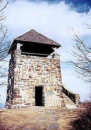 Wayah Bald tower