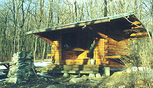 Allentown Hiking Club shelter