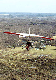 Hang Glider at Nelson's Overlook