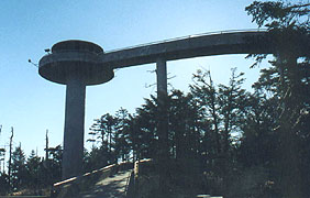 Clingman's Dome Observation Deck
