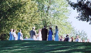 Wedding at Kent Pond